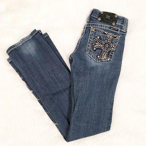 Miss Me Bootcut pocket embellished jeans 26